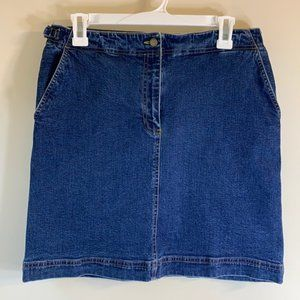 Lauren Jeans Co. Women's 10P Denim Pencil Skirt.